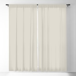 Tide Monitor ~ Shell White Blackout Curtain
