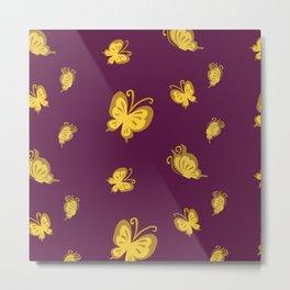 Butterflies Takasugi''' Metal Print