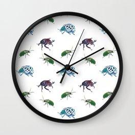 Beetle Dash Wall Clock