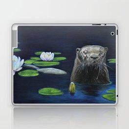 The River Otter by Teresa Thompson Laptop & iPad Skin