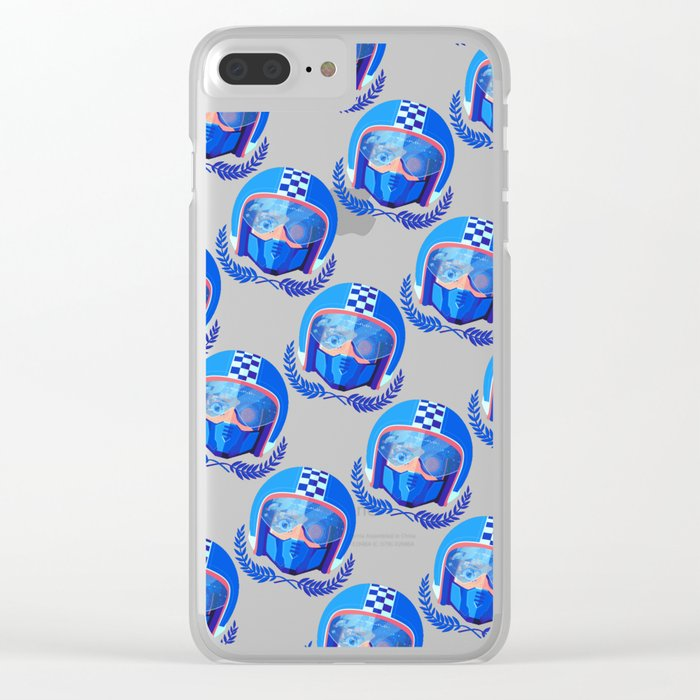 Lightspeed Racer Clear iPhone Case