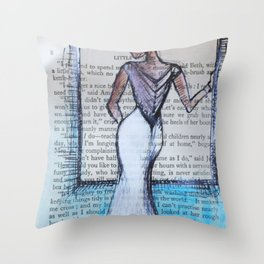 Dress Throw Pillow