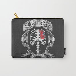 Heart in a Cage Carry-All Pouch