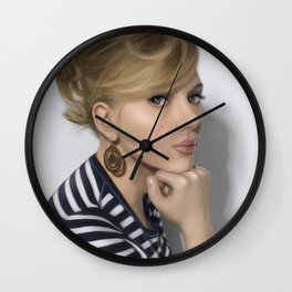 Scarlett Wall Clock