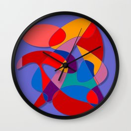 Abstract #66 Wall Clock