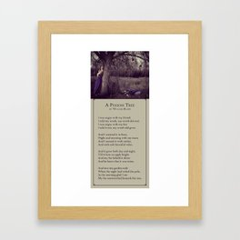 A Poison Tree Framed Art Print