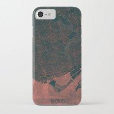 Toronto Map Red Slim Case iPhone 7