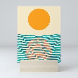 Ocean current Mini Art Print