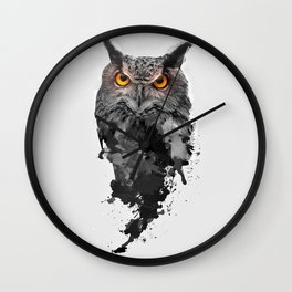 Be Watchful Wall Clock
