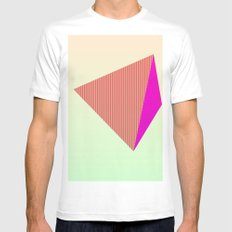 My Pyramid Mens Fitted Tee White MEDIUM