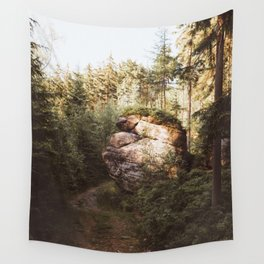 Forest trail - Landscape and Nature Photography Wall Tapestry
