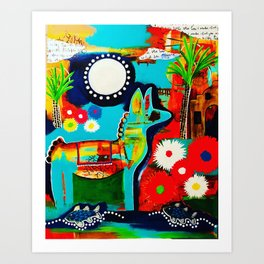 Mexican Love Art Print