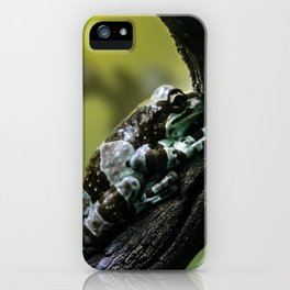Frog Far From Home iPhone Case