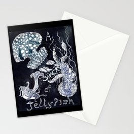 A Smack of Jellyfish Stationery Cards