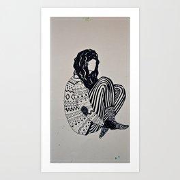 te. Art Print