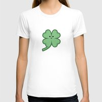 kawaii T-shirts featuring Kawaii Clover by Nir P