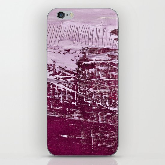 magenta iPhone & iPod Skin