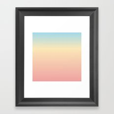 Pillow V Framed Art Print