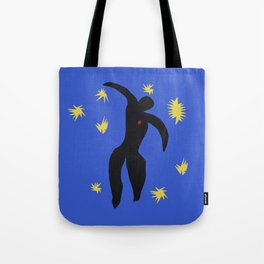 Icarus In the syle of Matisse Tote Bag