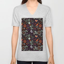 Seamless pattern can be used for wallpaper, pattern fills, web page background,surface textures. Gor Unisex V-Neck