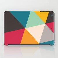 triangles iPad Cases featuring Triangles by Gary Andrew Clarke