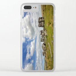 Dartmoor Tor Clear iPhone Case