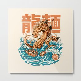 Great Ramen Dragon off Kanagawa Metal Print