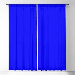 Cobalt Blackout Curtain