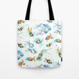 Goldfish Series - The Full Collection  Tote Bag