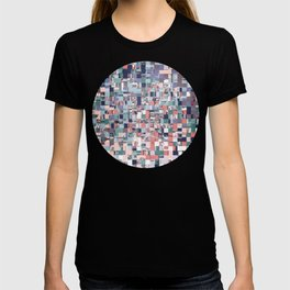 Colorful Abstract Geometric Mosaic T-shirt