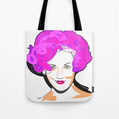 Drew Barrymore Tote Bag