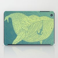 the whale iPad Cases featuring Whale by Guapo
