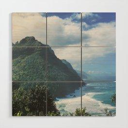 Na Pali Coast Kauai Hawaii Wood Wall Art