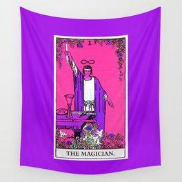 1. The Magician- Neon Dreams Tarot Wall Tapestry