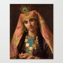 """Sophie Gengembre Anderson """"Scheherazade"""" Canvas Print"""