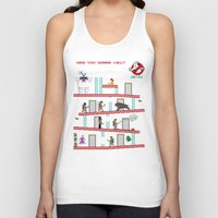 donkey Tank Tops featuring Donkey Puft by Mike Handy Art
