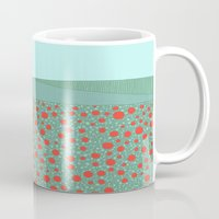 poppies Mugs featuring Poppies by Anita Ivancenko