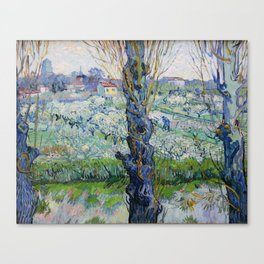 "Vincent Van Gogh ""View of Arles, Flowering Orchards"" Canvas Print"