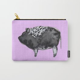 BUGSY in purple Carry-All Pouch