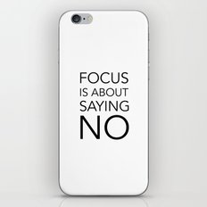 Focus is about.... iPhone & iPod Skin