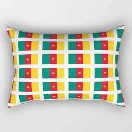 flag of cameroun -cameroun,cameroon,Cameroonian,camerounais,camerun, yaoundé,douala. Rectangular Pillow