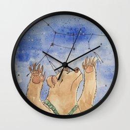 The Dancing Bear Wall Clock