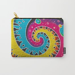 Jamaican Fabric Carry-All Pouch