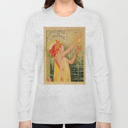 Classic French art nouveau Absinthe Robette Long Sleeve T-shirt