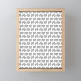 Ampersand Elephant Framed Mini Art Print