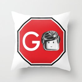 GO Throw Pillow