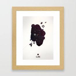 CORE Black 3 Framed Art Print