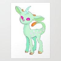 Majestic seadeer Art Print