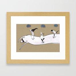 Shonen Knife Framed Art Print