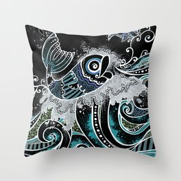 Flyfishy for sale! Throw Pillow